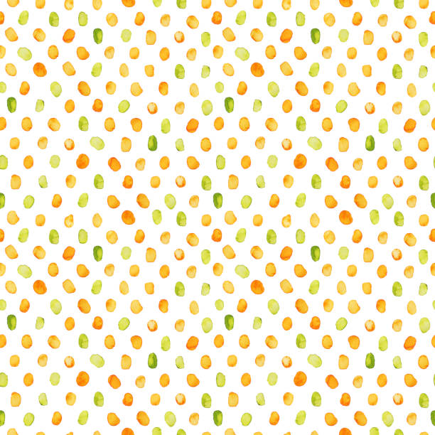 Seamless dots pattern. stock photo