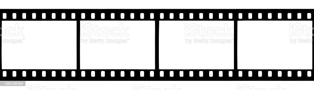 Seamless film strip royalty-free stock photo