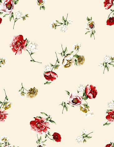 Seamless Flower Pattern - zdjęcia stockowe i więcej obrazów Australia