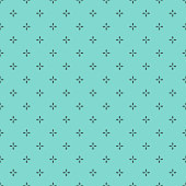 Seamless geometric pattern - geometric background stock illustration