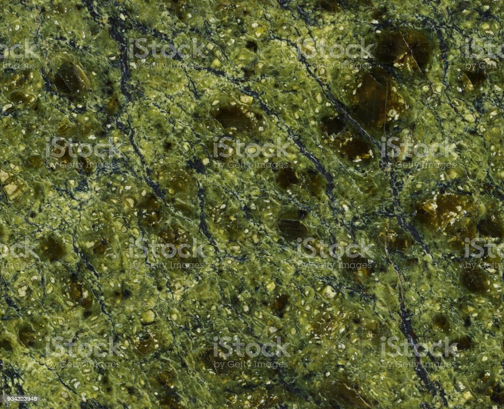 Seamless green stone background stock photo
