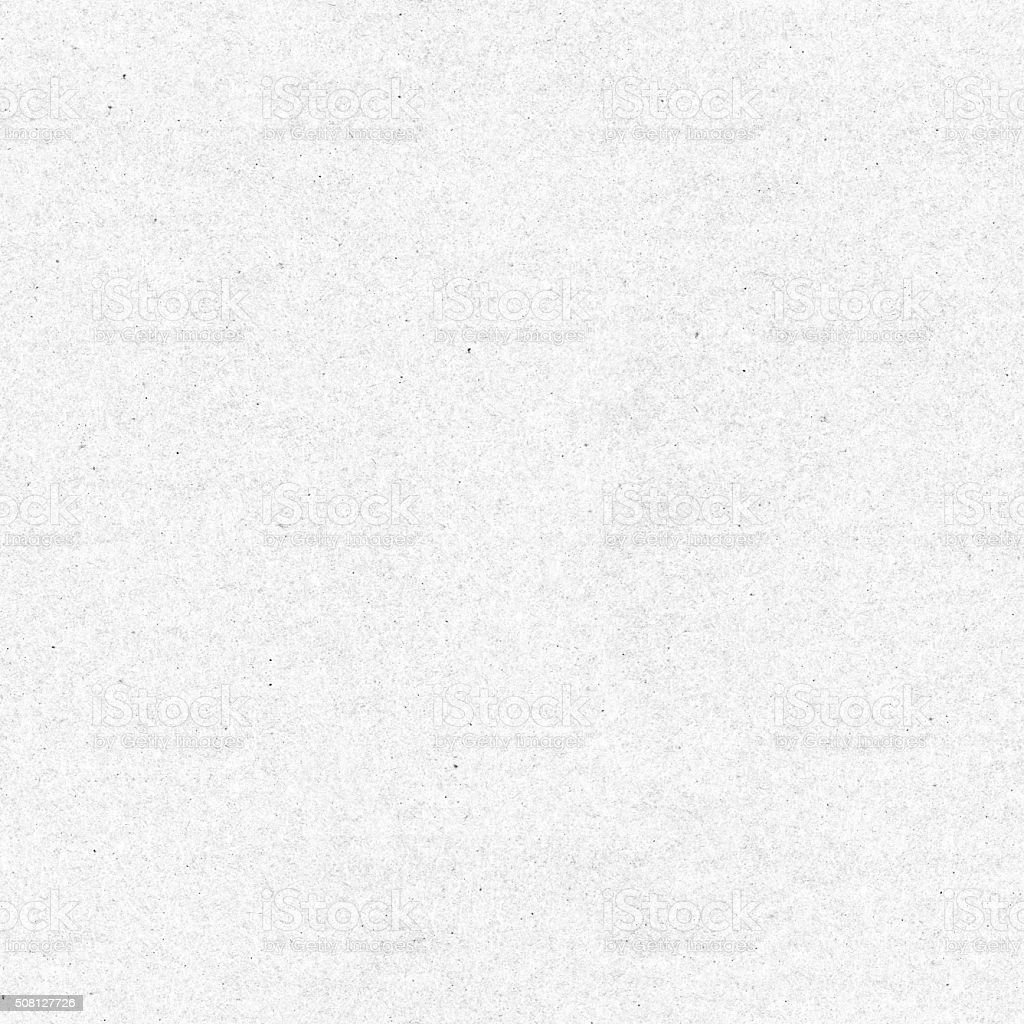 Seamless handmade paper - recycled sheet of white eco texture stock photo