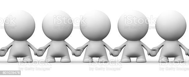 Seamless image of white human 3d characters holding hands picture id601029476?b=1&k=6&m=601029476&s=612x612&h=g4wjakrfpapzijwbosygkmn52u7gpfxddtscx5lfvzg=