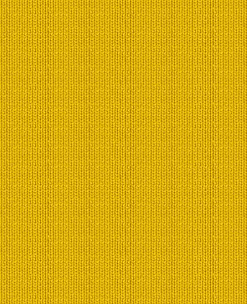 nahtloses strickgewebe 3d gelb hinterlegt - hausgemachte teppichreiniger stock-fotos und bilder