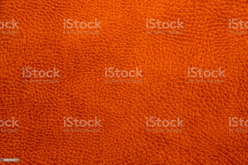 Seamless leather texture red-brown background pattern stock photo