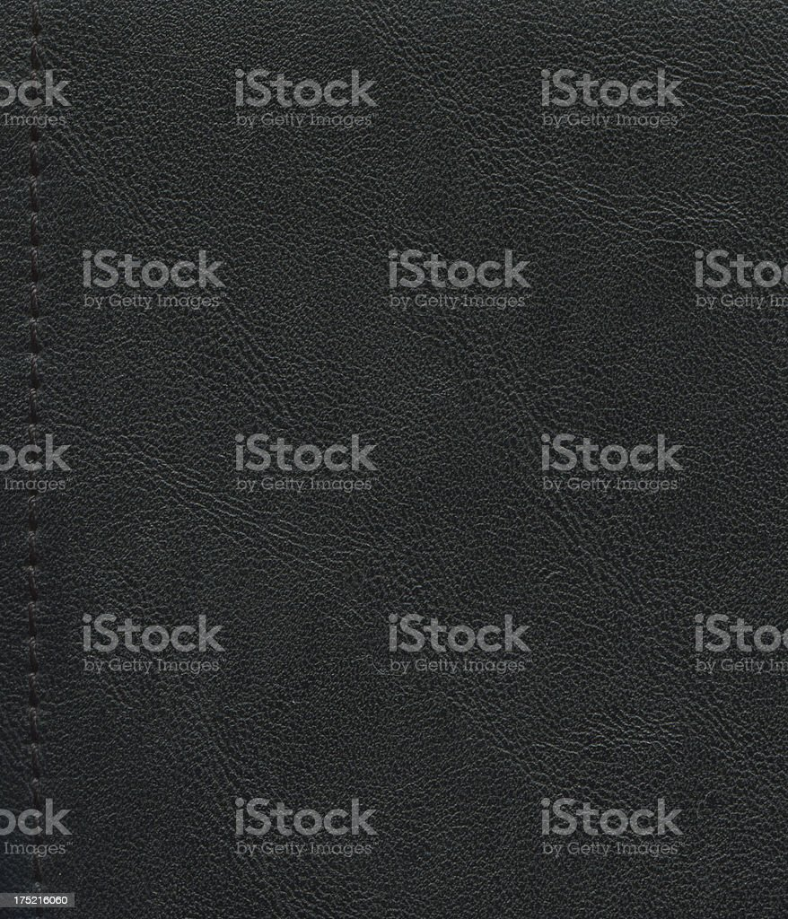 Seamless leather with good stitching stock photo