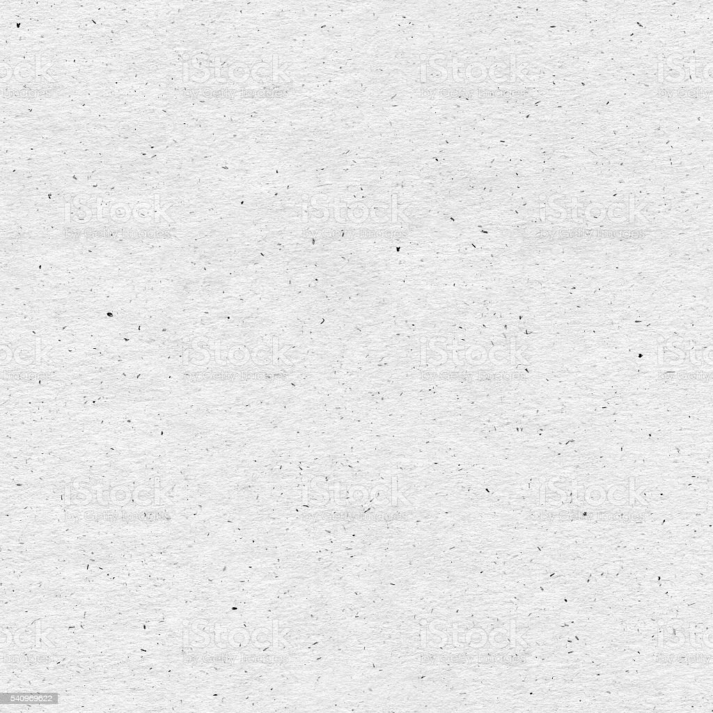 Seamless light gray recycled paper background with visible imperfections stock photo