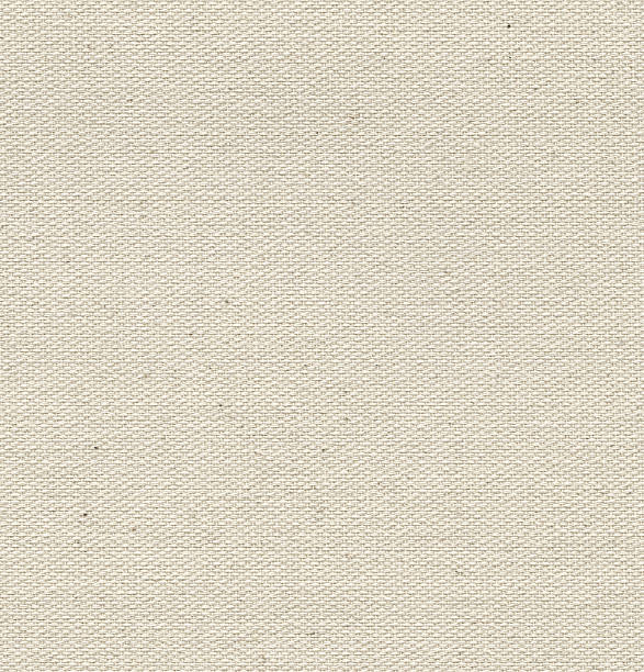 seamless linen canvas  background - textile stock photos and pictures