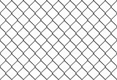 seamless metal mesh fence