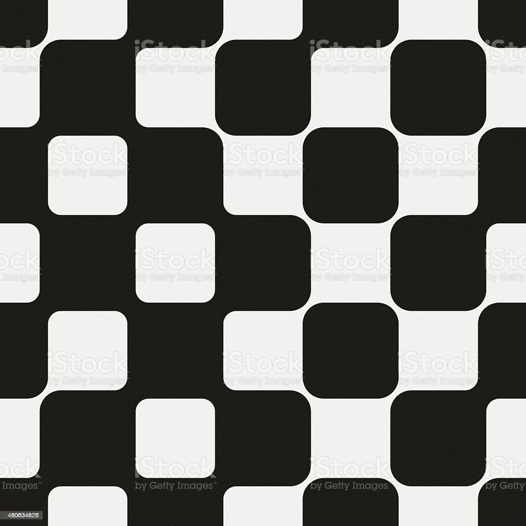 Seamless modern geometric design on white paper stock photo