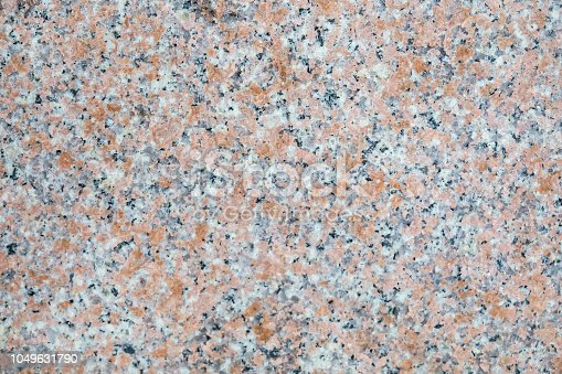 Seamless mottled granite slab texture