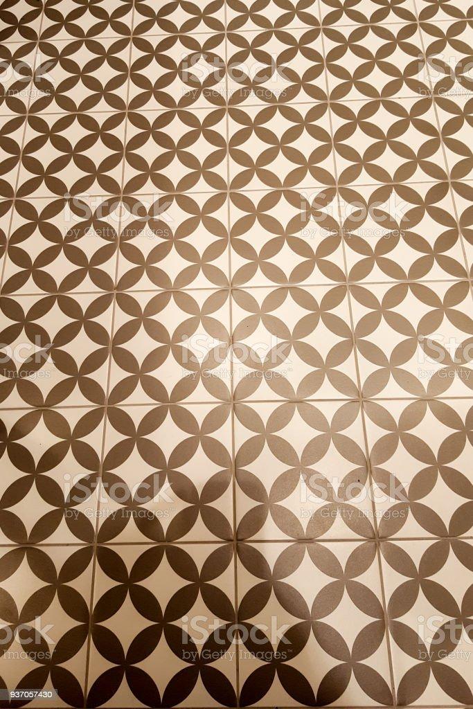 Nahtloses Muster Basierend Auf Traditionellen Wand Und Bodenfliesen
