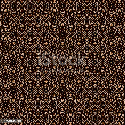 istock seamless pattern made from any geometrical shape for creative design background. illustration 1263906016