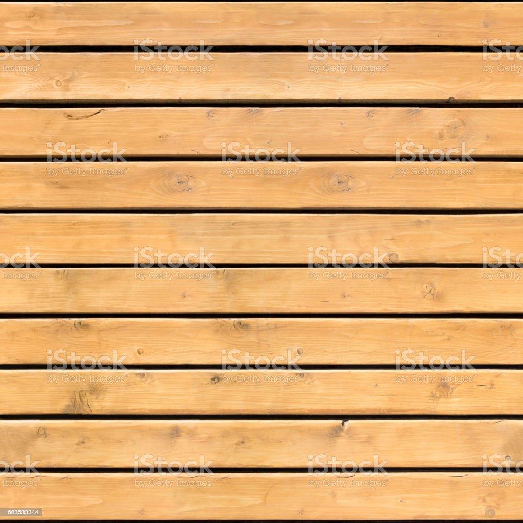 Seamless pattern of brown wooden horizontal plank stock photo