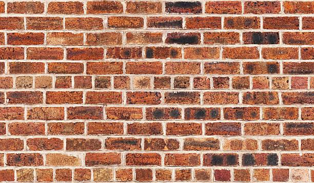 Seamless Pattern of Old Brick Wall stock photo