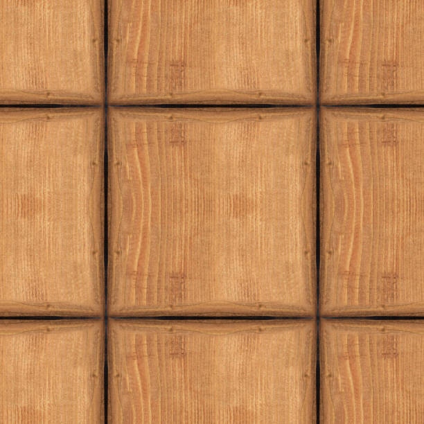 Royalty Free Wood Texture With Gnarl And Natural Wood Pattern