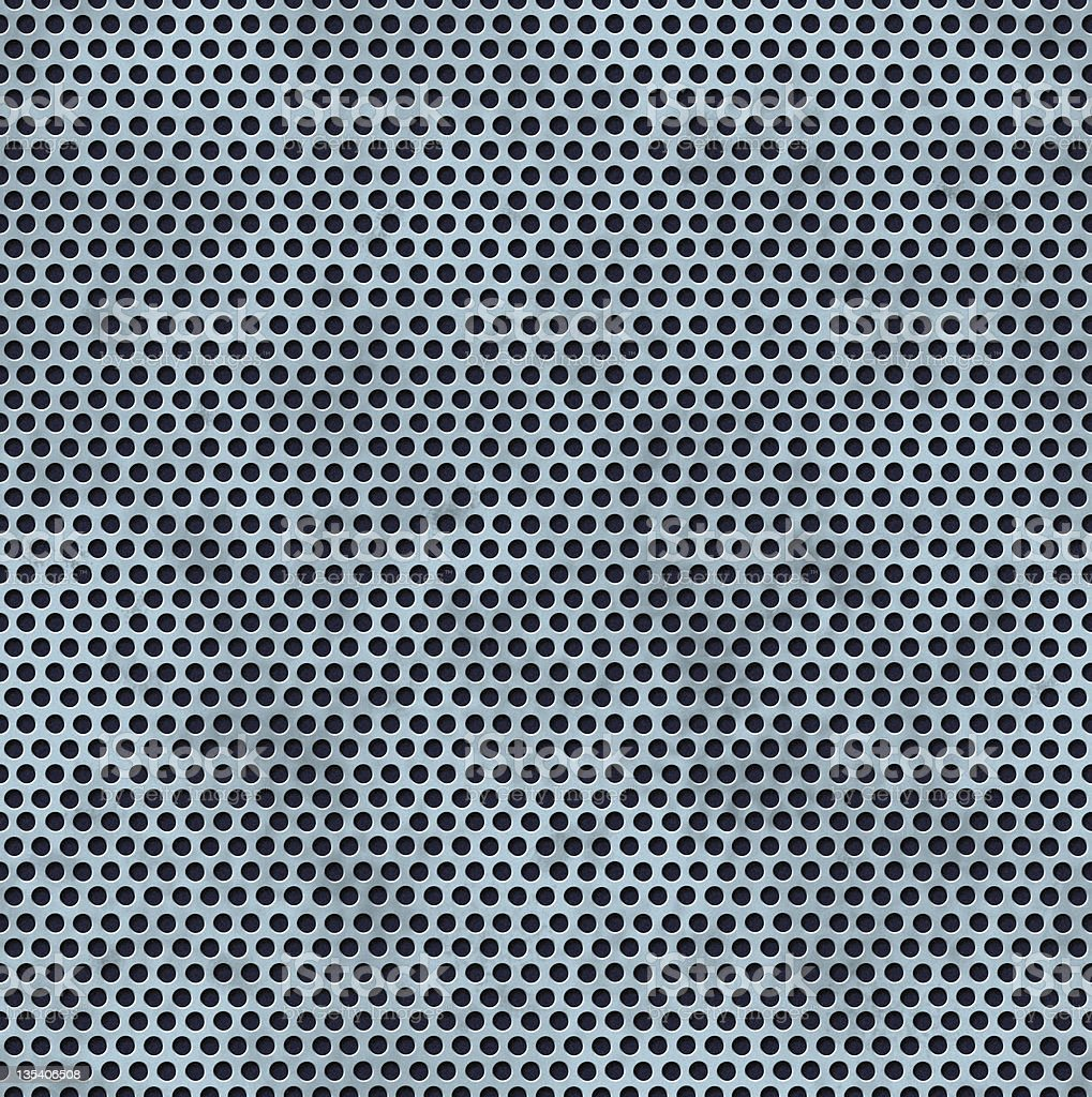 Seamless Perforated Metal royalty-free stock photo