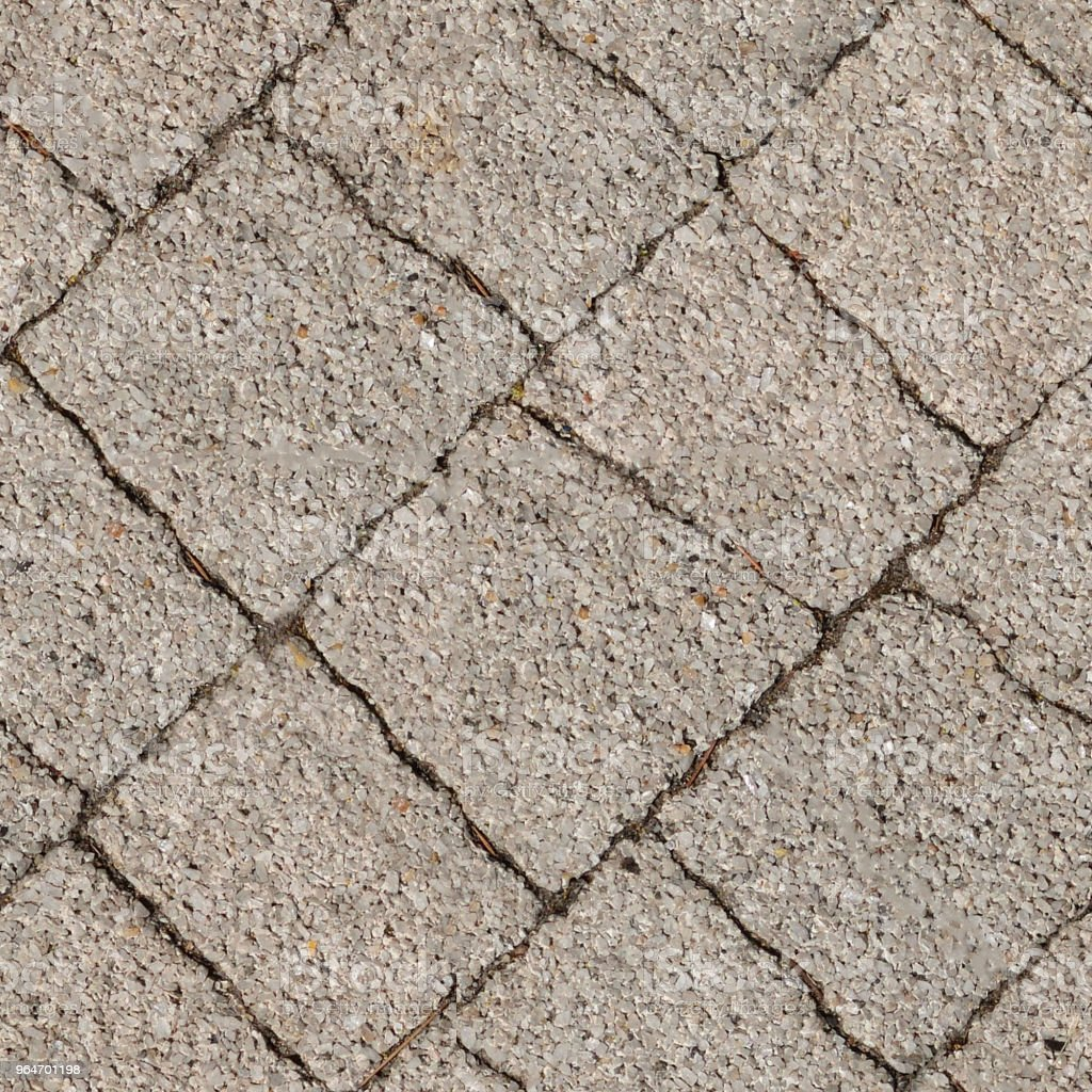 Seamless photo texture of pavement tile from natural stone royalty-free stock photo