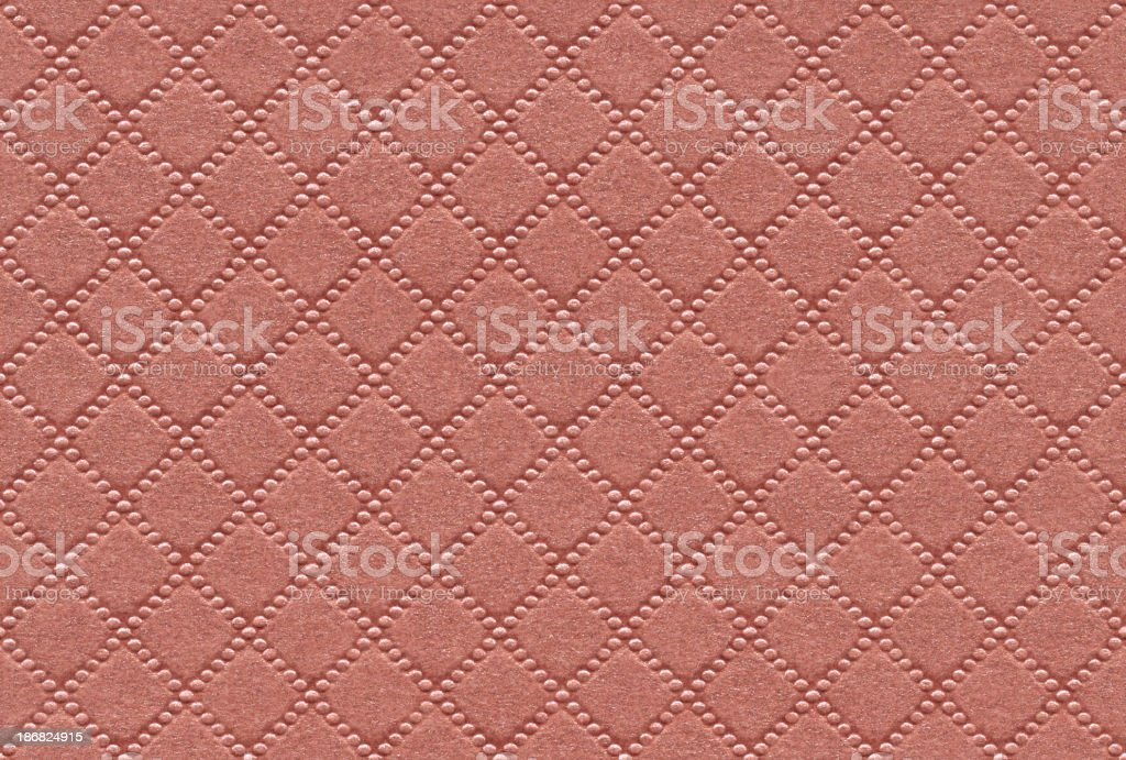 Seamless pink textured paper background stock photo