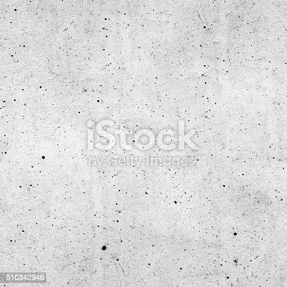 Seamless raw rough polluted gray concrete wall surface background texture.
