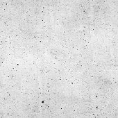 Seamless raw rough polluted gray concrete wall surface background texture