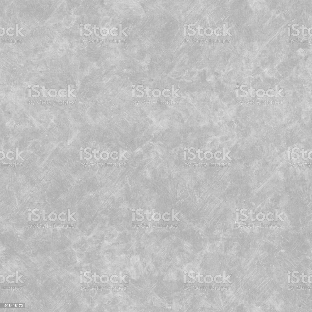 Seamless realistic concrete wall background with visible messy irregular bad painted strokes in light gray.jpg stock photo