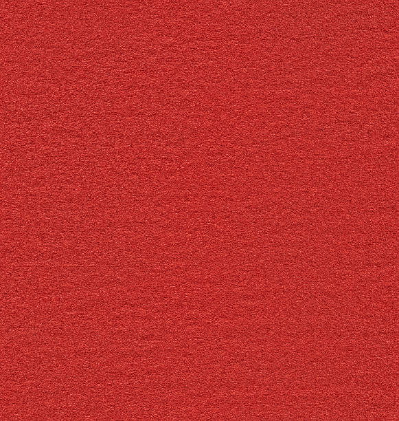 seamless red felt background - felt textile stock pictures, royalty-free photos & images