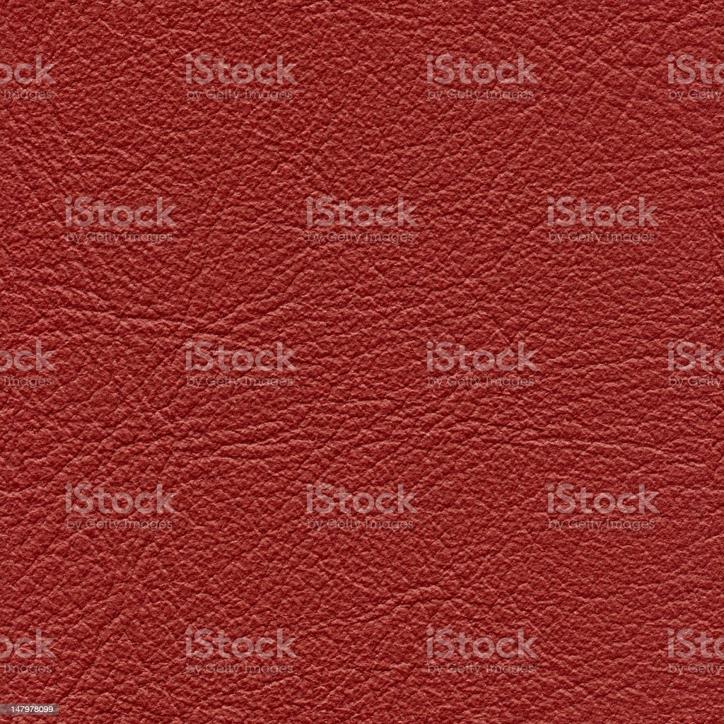 Seamless red leather background royalty-free stock photo