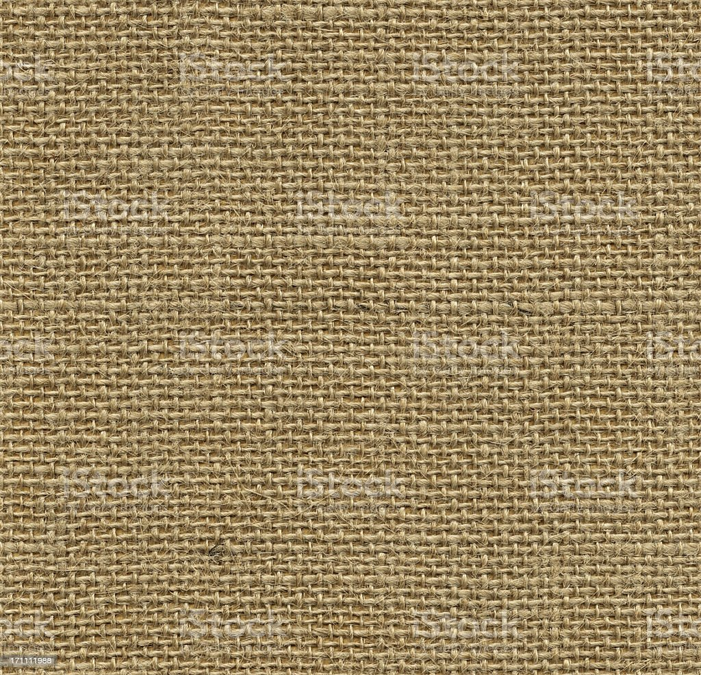 Seamless sackcloth background stock photo