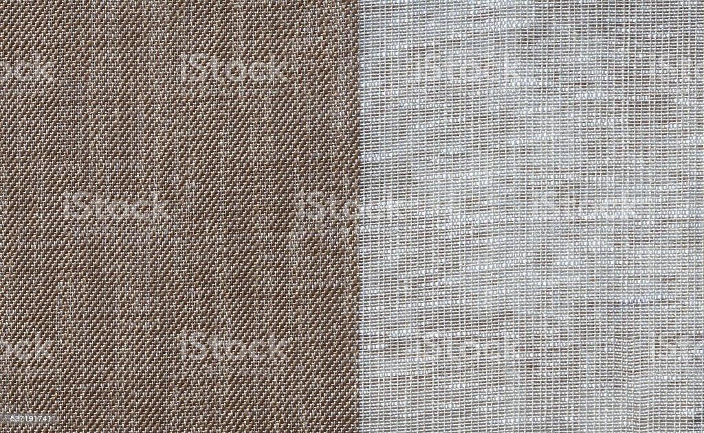 Seamless sackcloth Background stock photo