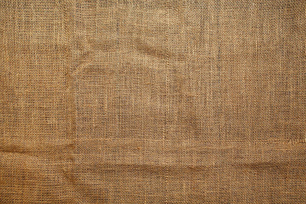 Seamless sackcloth texture Cookbook background. Table with jute coarse grain canvas texture ( seamless sackcloth ). burlap stock pictures, royalty-free photos & images