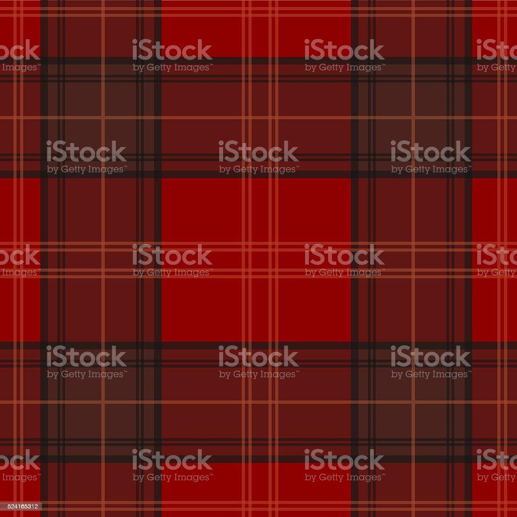 Seamless scotch pattern stock photo