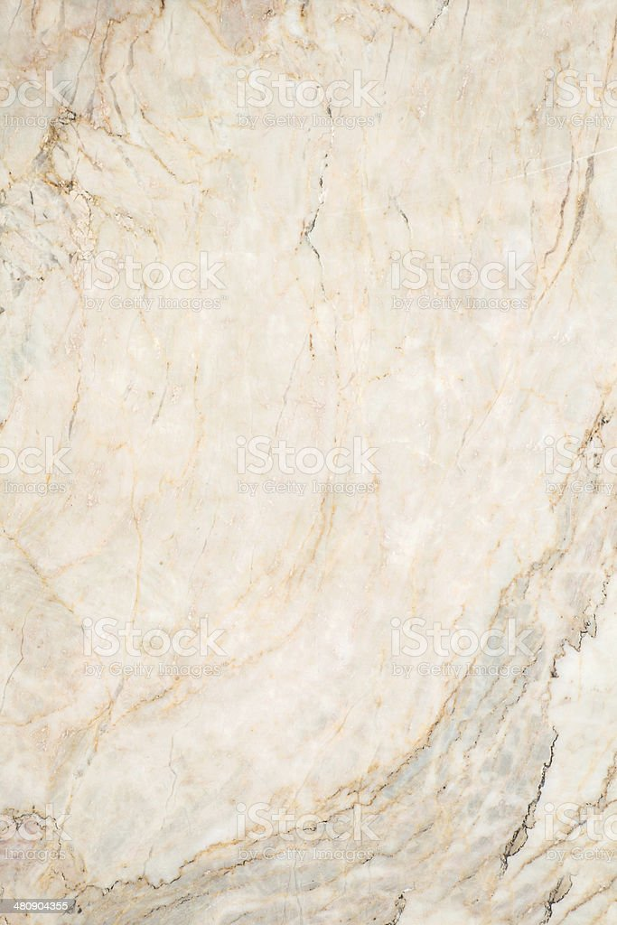 Seamless Soft Beige Marble Texture Royalty Free Stock Photo