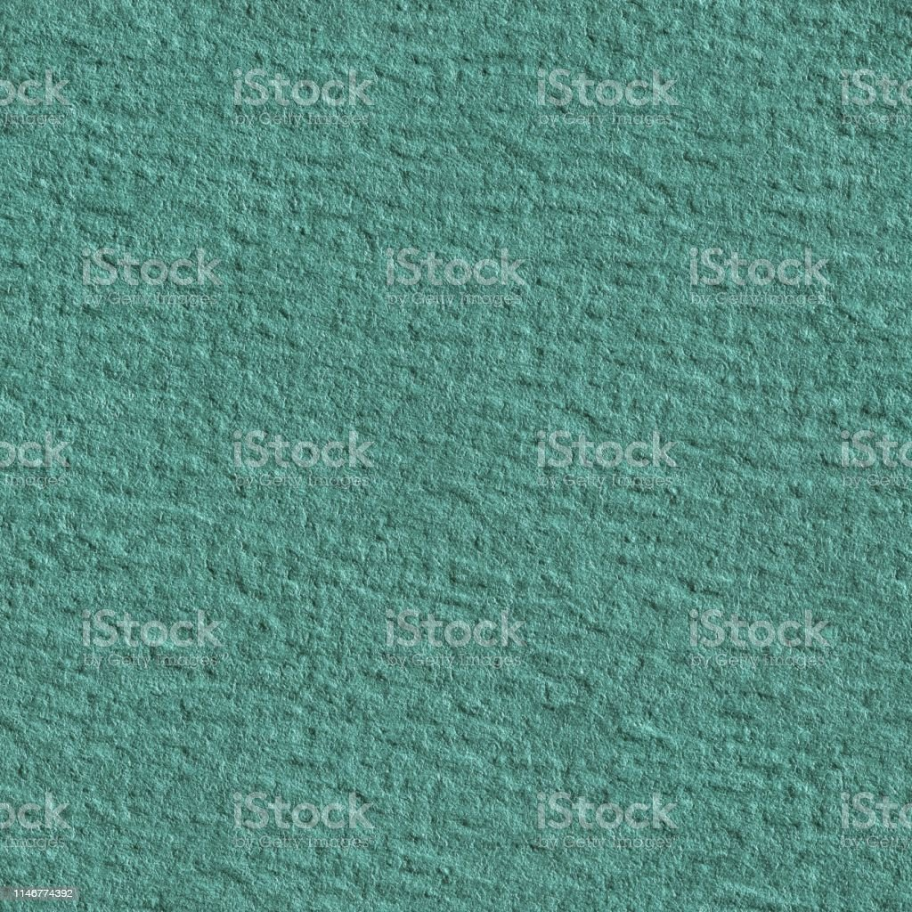 Seamless square texture. Green aqua paper texture. Tile ready