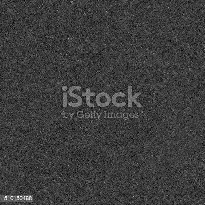Seamless square uneven harsh rough dark gray sandpaper texture pattern.