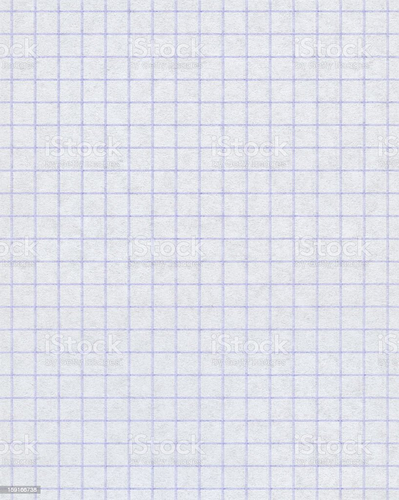 Seamless squared paper background stock photo
