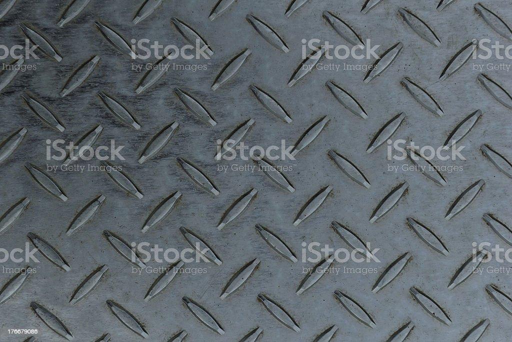 diamond textura de placa de acero inoxidable foto de stock libre de derechos