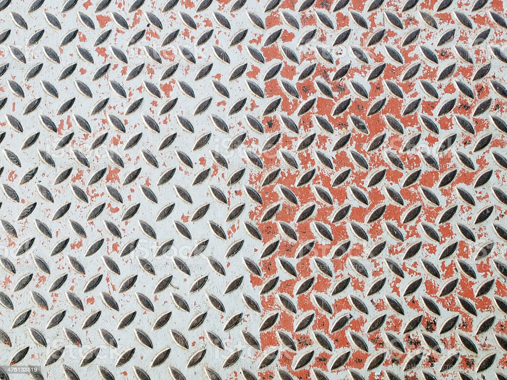 Seamless steel  plate texture royalty-free stock photo