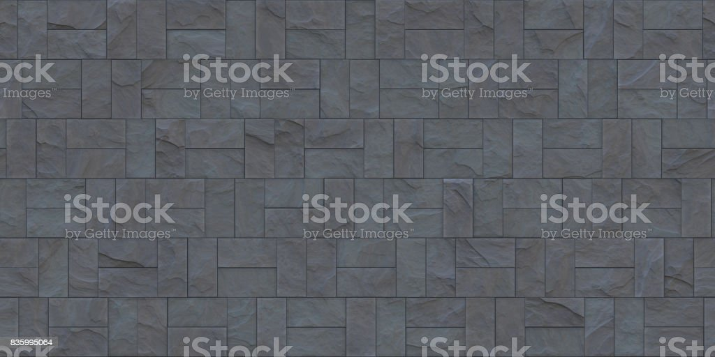 Seamless Stone Cladding Texture Royalty Free Stock Photo