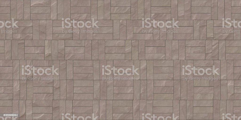 Seamless Stone Cladding Texture stock photo