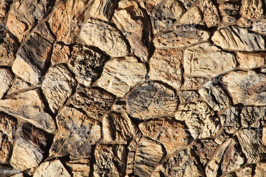 Seamless Stone Wall Texture stock photo
