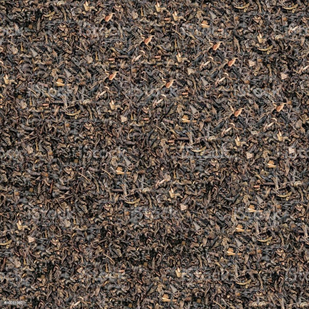 Seamless texture of aromatic black tea background stock photo