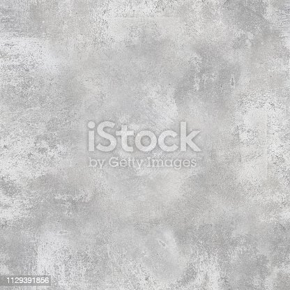 Seamless texture of gray concrete wall. Tileable background