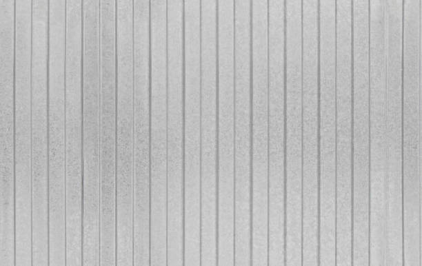 Seamless Texture Of Metal Profiled Sheet Fence Stock Photo ...