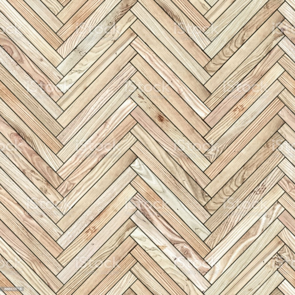 Seamless texture of parquet from natural wood (herringbone) royalty-free stock photo