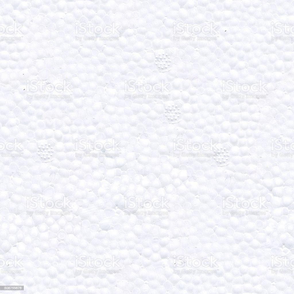 Seamless texture of styrofoam stock photo
