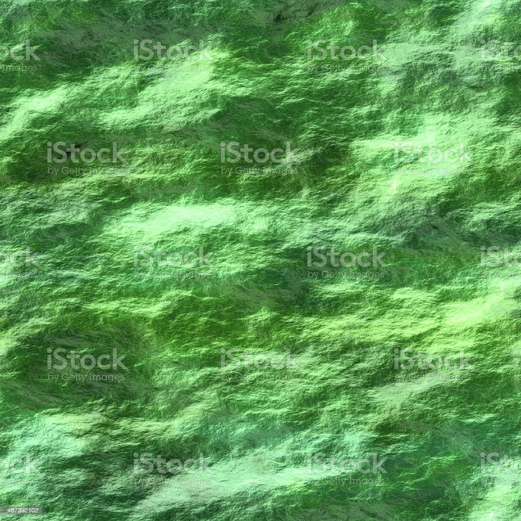 Seamless texture of water with cyanobacteria stock photo