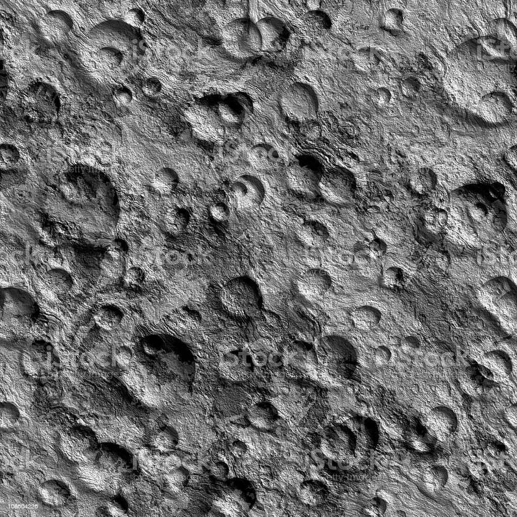 Seamless Texture surface of the moon stock photo