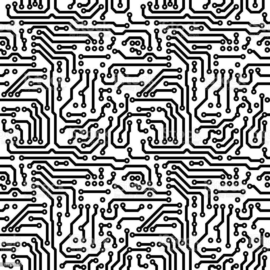 Seamless texture - theme electrical stock photo