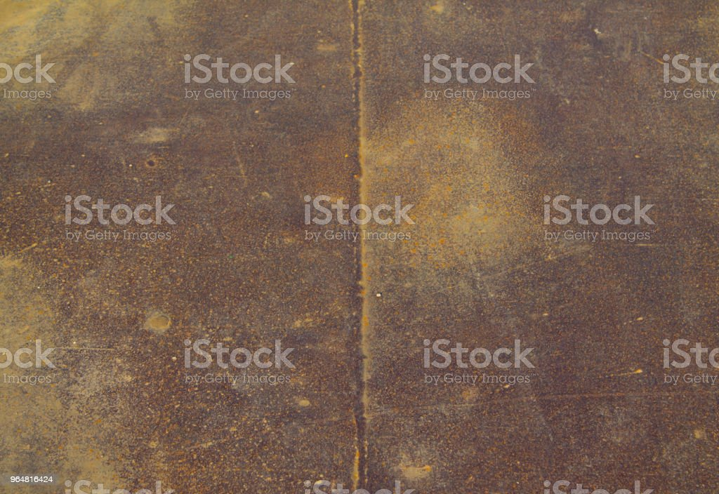 Seamless tileable texture of rusty metal sheet royalty-free stock photo